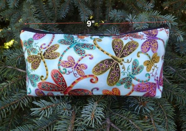 boutique style flat bottom zip bag