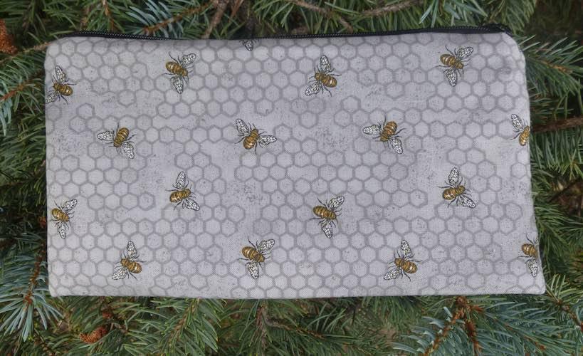 Bees Deep Scribe pen and pencil case
