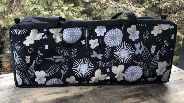 Blooms Mahjongg Storage Set The Zippered Tote-ster and Large Zini