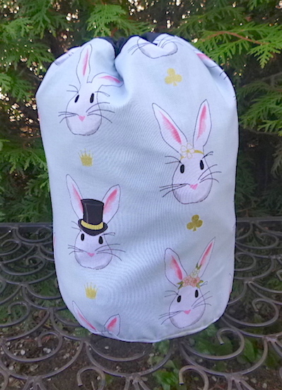 The Bunnies SueBee Round Drawstring Bag