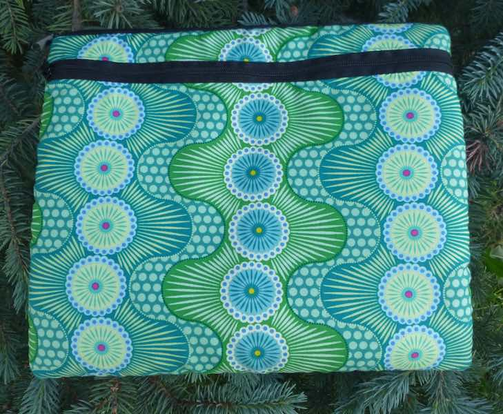 "Dot Crazy padded case for iPads, smaller tablets and netbooks, up to 9.5"" x 7.31"" x .34"", The Boda Deluxe"