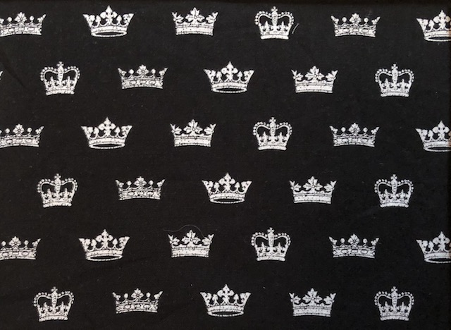 Crowns Adjustable Face Mask - MADE TO ORDER