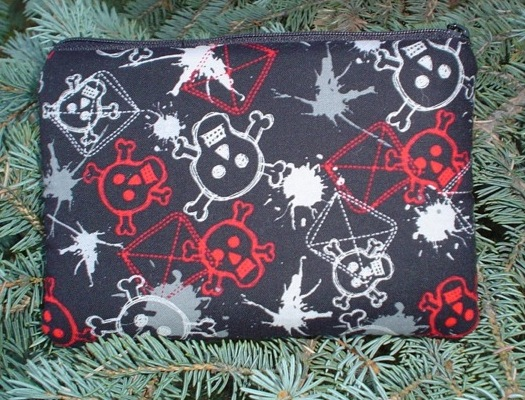 Graffiti Skulls Gamer-A padded case for Nintendo DS and DS Lite-CLEARANCE