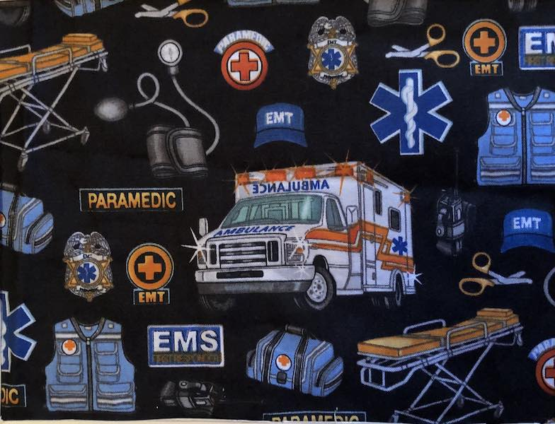 Paramedic Adjustable Face Mask - MADE TO ORDER