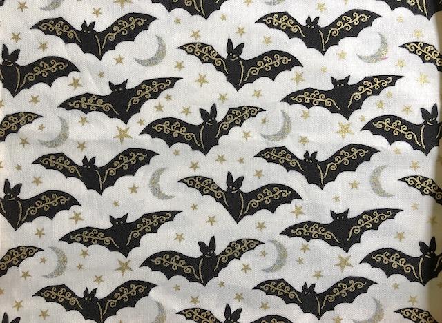 Gilded Bats Adjustable Face Mask - MADE TO ORDER