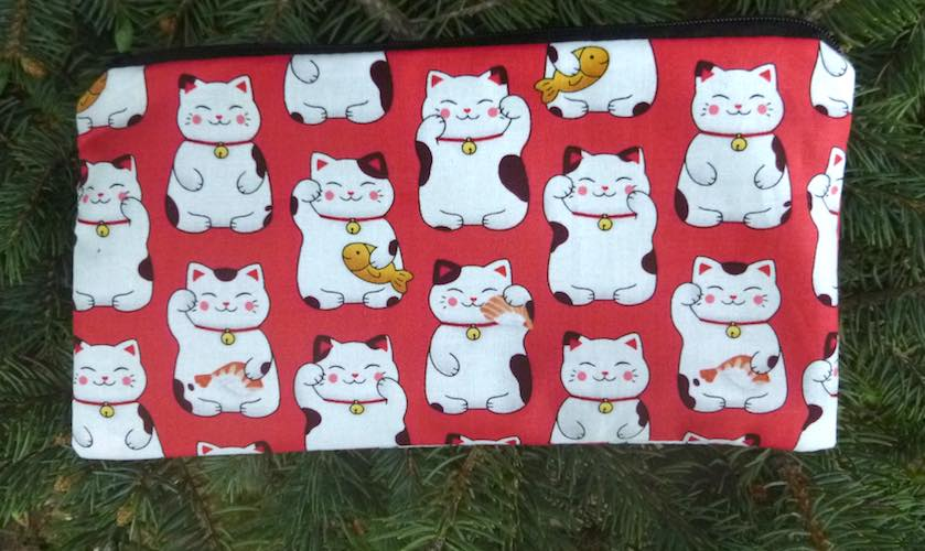 Maneki-Neko Deep Scribe pen and pencil case