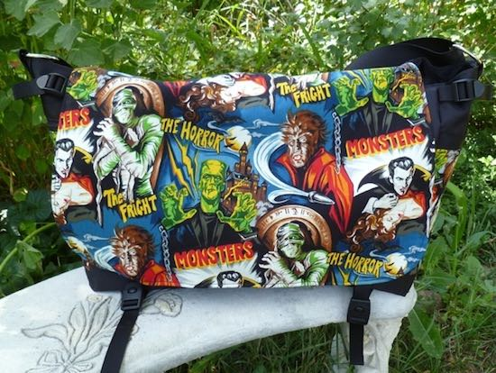 Movie Monsters Panther Deluxe Messenger Bag