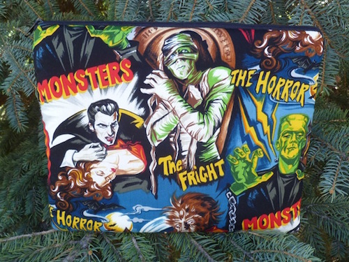 Movie Monsters Padded case for  tablets and e-readers, The Boda
