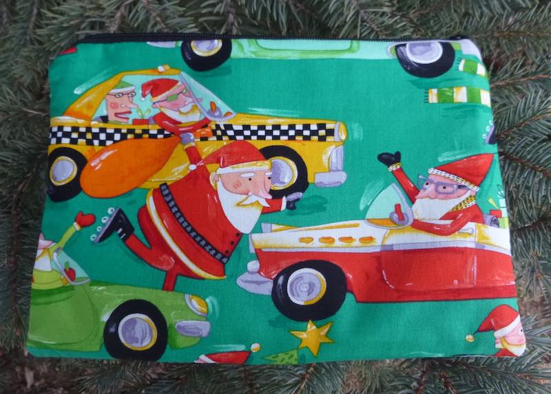 Santa's New Sleigh zippered bag, The Scooter