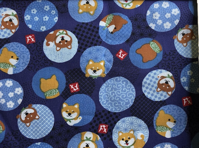 Shiba Inu Adjustable Face Mask - MADE TO ORDER