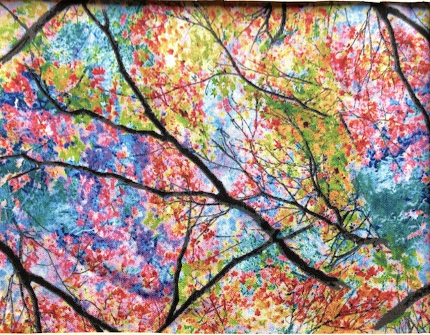 Spring Trees Adjustable Face Mask - MADE TO ORDER
