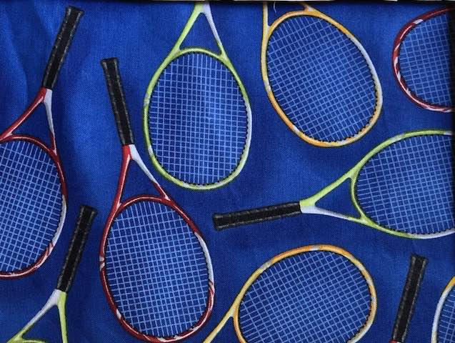 Tennis Adjustable Face Mask - MADE TO ORDER