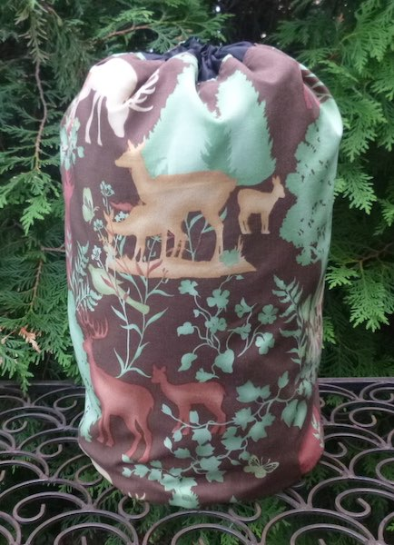 The Forest drawstring bag, The Large Suebee