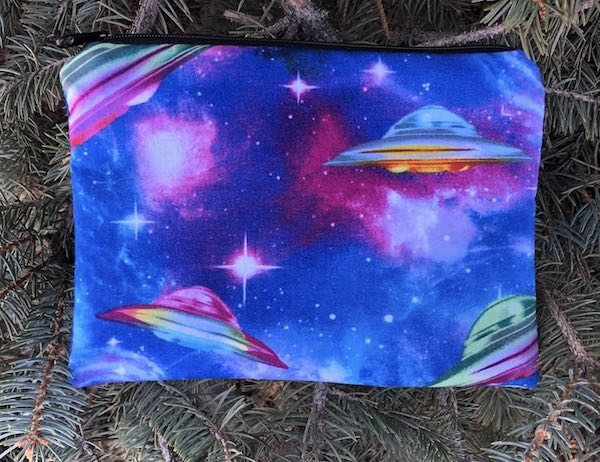 UFO's zippered bag, The Scooter