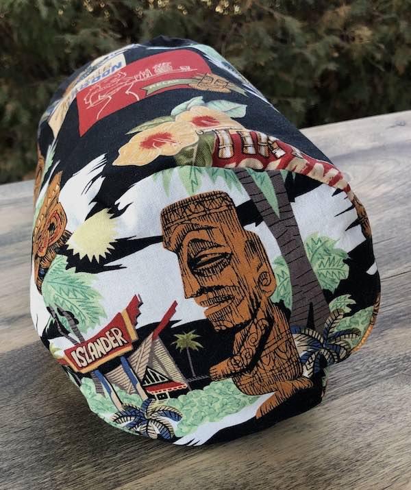 Zombie Lagoon SueBee Round Drawstring Bag
