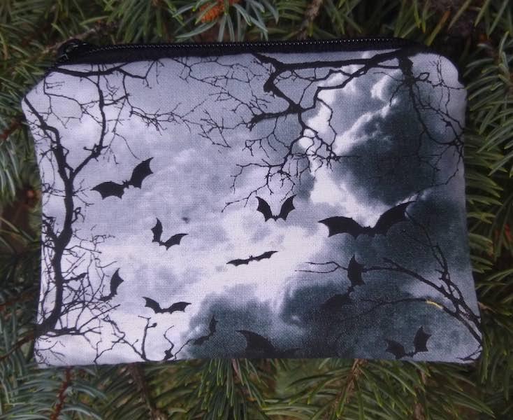 Bats Coin Purse, The Raven
