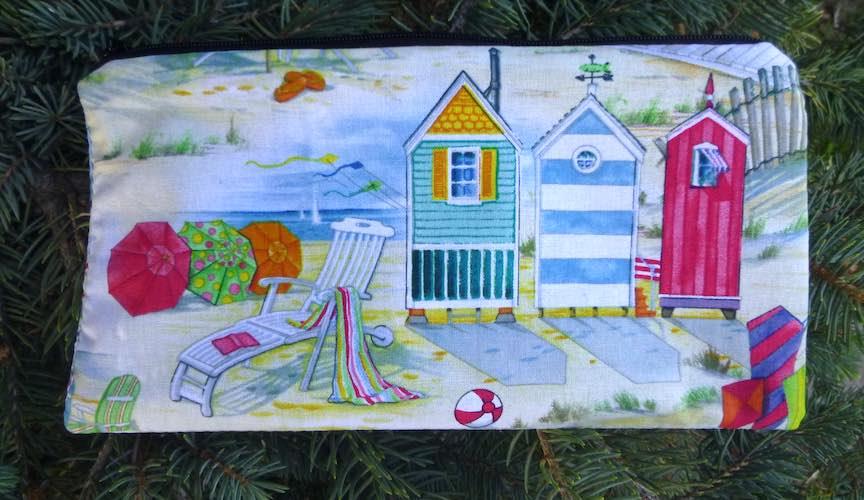 Beach Kites Deep Scribe pen and pencil case