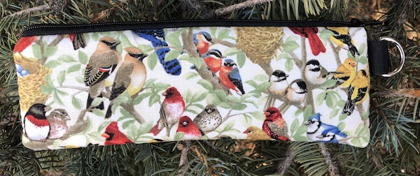 Beautiful Birds Padded Zippered Glasses Case, The Spex