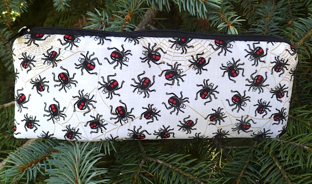 Black Widow pen and pencil case, The Scribe