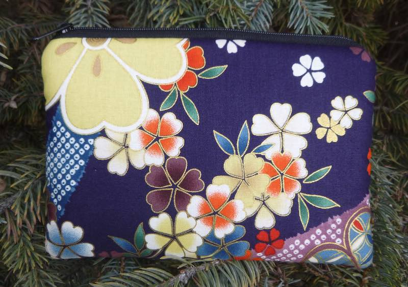 Cherry Blossoms padded case for essential oils, the Essence
