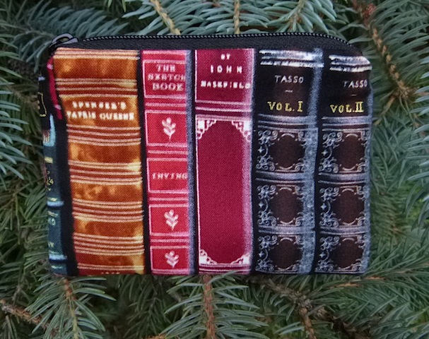 Classic Books Coin Purse, The Raven