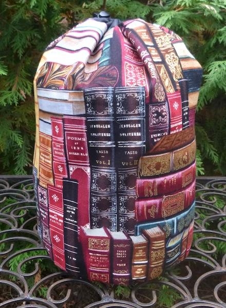 Classic Books SueBee Round Drawstring Bag