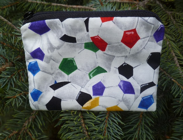 Colorful soccer balls Coin Purse, The Raven