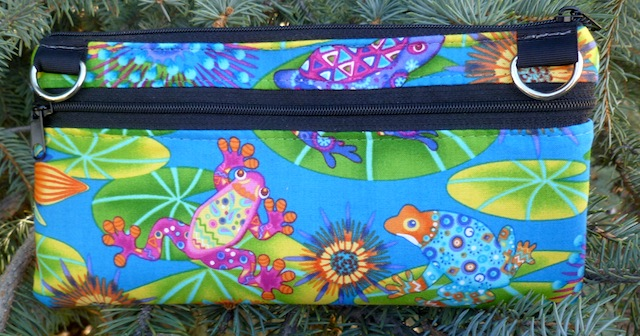 Colorful Frogs e-cigarette travel case, The wide Vaper-CLEARANCE