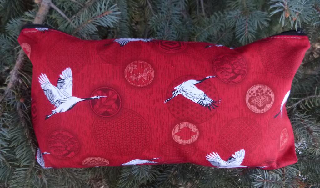 Crane Flight Large Zini Flat Bottom Bag, pick your color