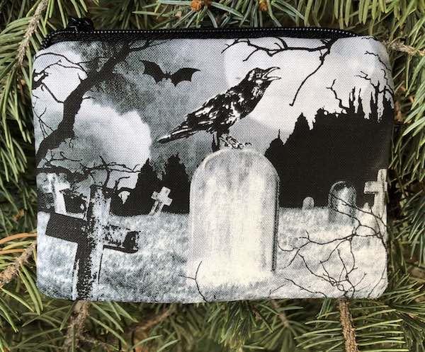 Crow's Graveyard Coin Purse, The Raven