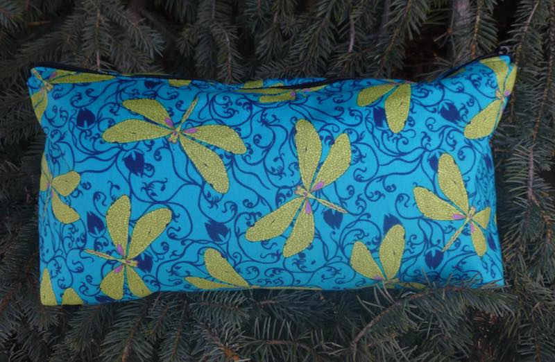 Dragonflies in the Garden Large Zini Flat Bottom Bag