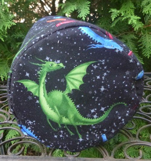 Dragons SueBee Round Drawstring Bag