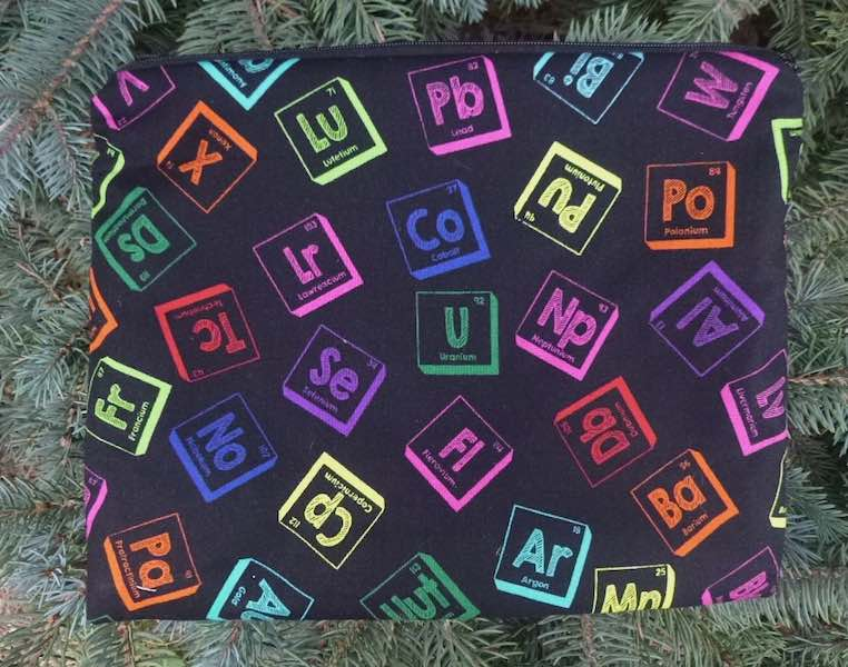 Elements Supa Scribe extra large pencil case or makeup bag