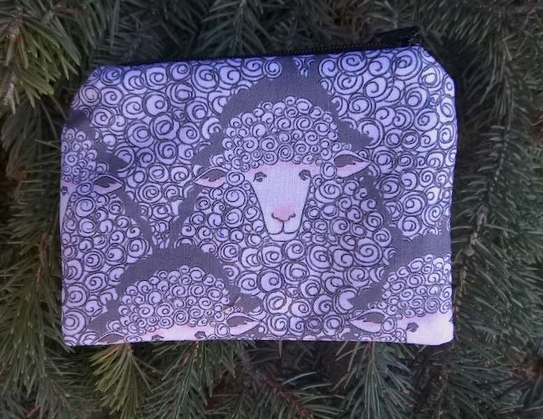 Eyes on Ewe Coin Purse, The Raven