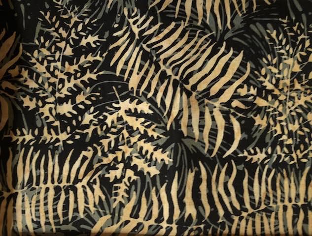 Ferns Batik Adjustable Face Mask - MADE TO ORDER