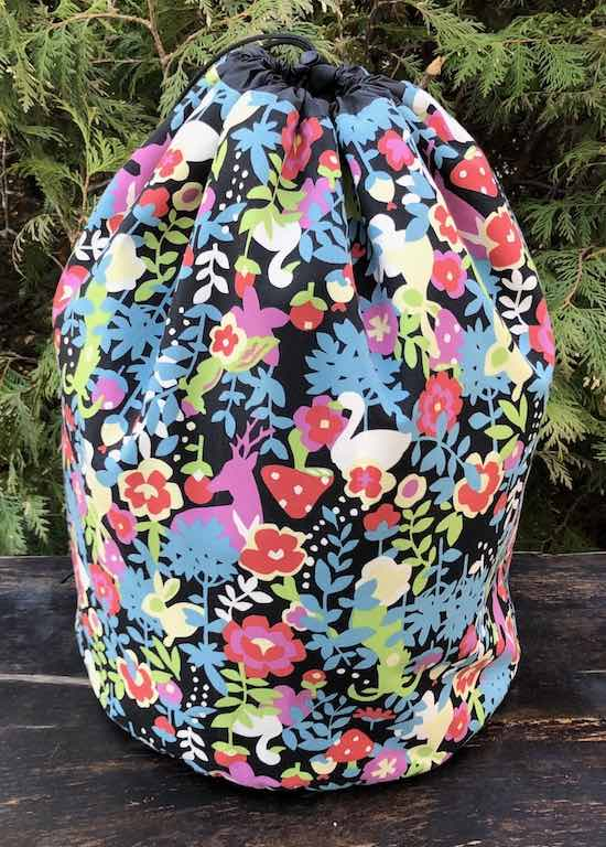 Forest Friends Alpaca Large Knitting Bag