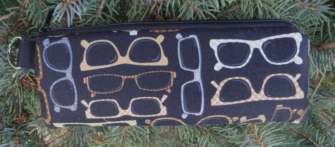 Glasses Galore Padded Zippered Glasses Case, The Spex