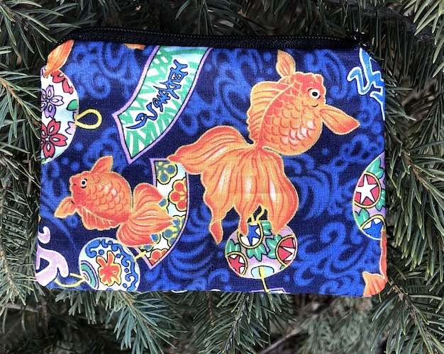 Japanese Goldfish Coin Purse, The Raven