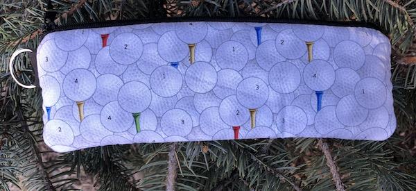 Golf Balls Padded Zippered Glasses Case, The Spex