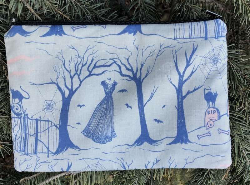 Haunted Graveyard zippered bag, The Scooter