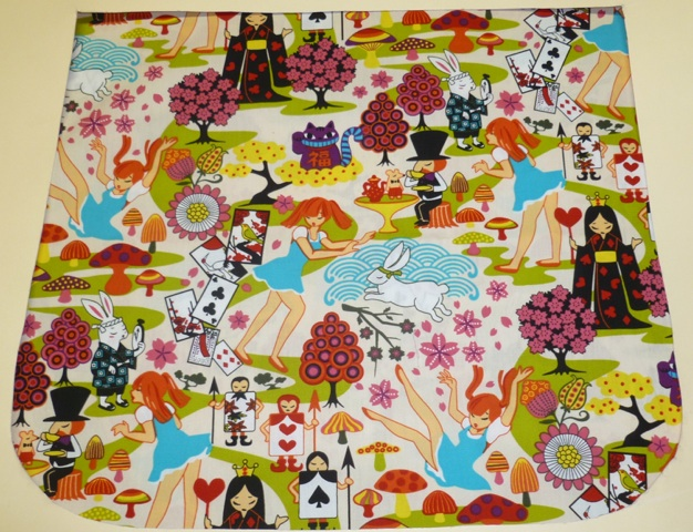 Kawaii Alice in Wonderland Pick your Size Morphin Messenger Bag Flap