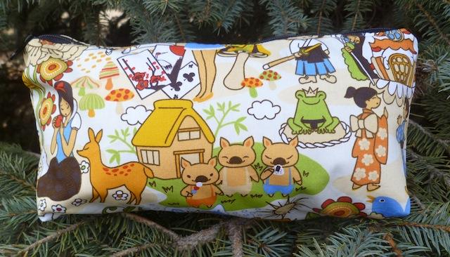 Kawaii fairy tales flat bottom bag, The Zini