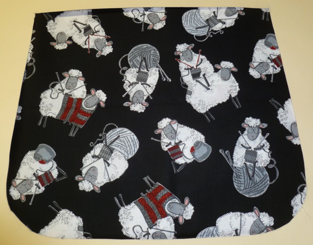 Knitting sheep Pick your Size Morphin Messenger Bag Flap