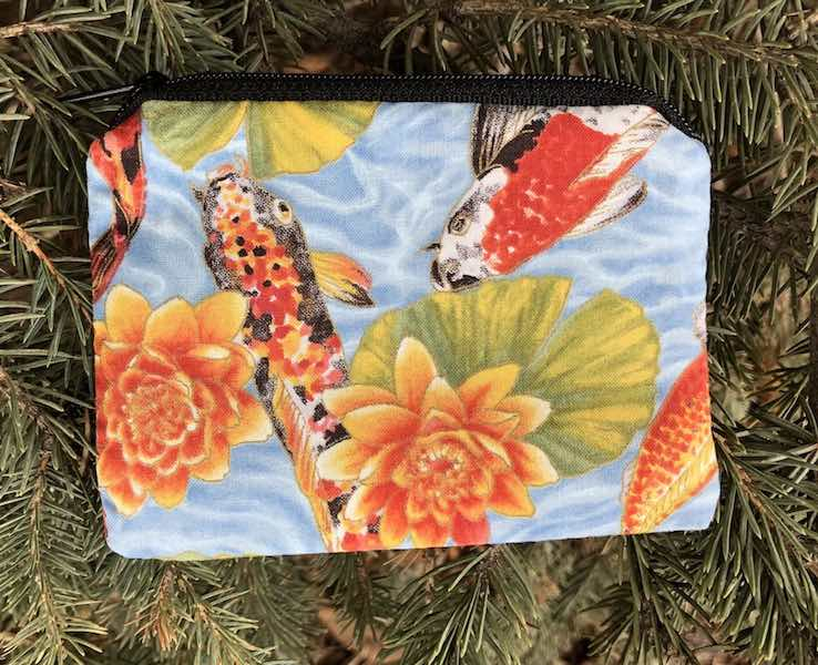 Koi Pond Coin Purse, The Raven