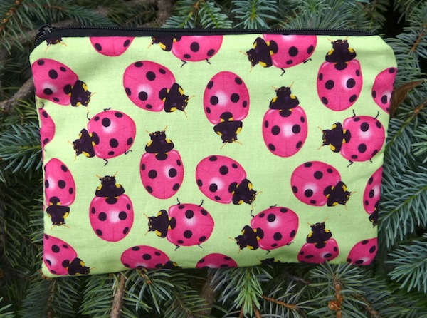 Ladybugs zippered bag, The Scooter