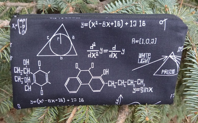 Math Medley Deep Scribe pen and pencil case