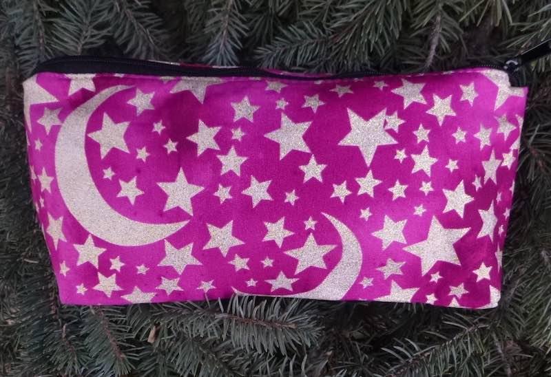 Moon and Stars flat bottom bag, The Zini