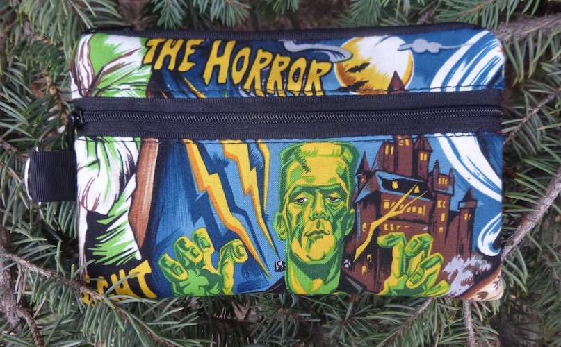 Movie Monsters Mini Wallet Purse Organizer, iPhone wallet, The Sweet Pea