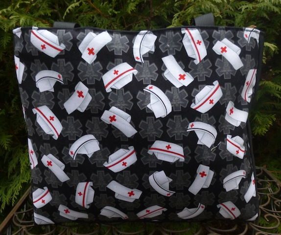 Nurses Caps Medium Fleur Tote