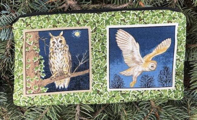Owl Frames Deep Scribe pen and pencil case